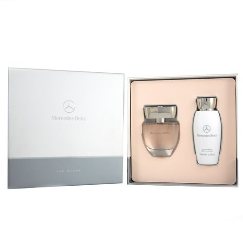 Mercedes Benz -Gift Set For Women-60ml EDP and 100ml Body Lotion