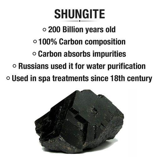 Black Shungite Filled Calf Pad (Size 18x47 Cm)