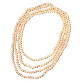 Freshwater White Pearl Beads Necklace (Size 100) 911.500 Ct.