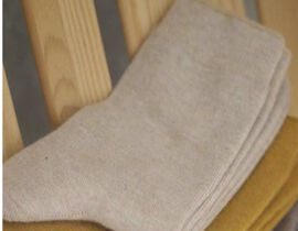 Kris Ana Cashmere Mix Socks One Size (3-8) - Taupe