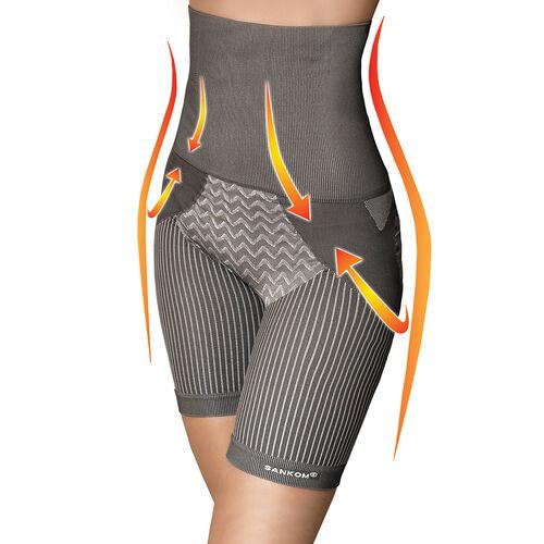 SANKOM SWITZERLAND Bamboo fibers Posture Correction Shapers Shorts - Grey (Size XS)
