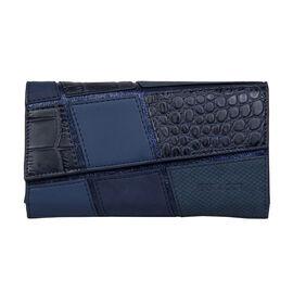 Bulaggi Collection - Carmel Hh Wallet (Size 19x11x01 Cm) - Navy
