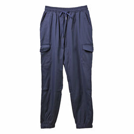 Nova of London Cargo Cuffed Jogger with Side Pockets in Navy (Size L)