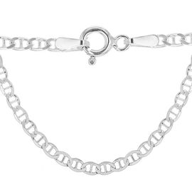 Sterling Silver Flat Rambo Chain (Size 20), Silver wt 4.90 Gms