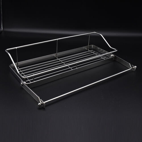 Kitchen Seasoning Rack in Stainless Steel