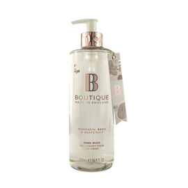 Boutique: Mandarin, Basil & Grapefruit Hand Wash - 500ml