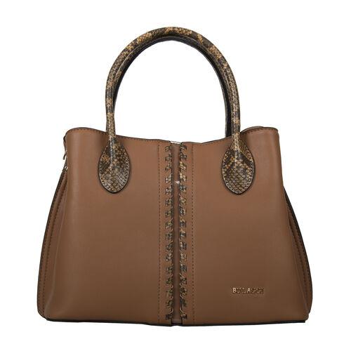 Bulaggi Collection - Anemoon Handbag/Shoulder Bag with Detachable and Adjustable Strap (Size 30x21x1
