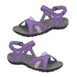 Gola Cedar Walking Sandal in Purple and Lilac Colour