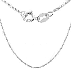 Sterling Silver Panza Curb Chain (Size 20)