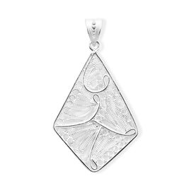Royal Bali Collection High Polish Pendant in Sterling Silver 2.50 Grams