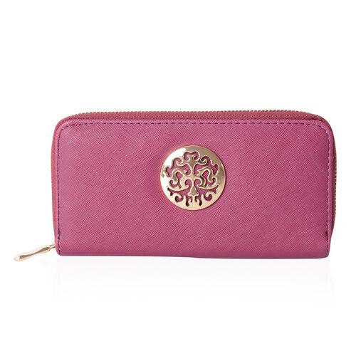 Purple Colour RFID Blocker Wallet (Size 19x10x2.5 Cm)