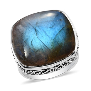 Sajen Silver GEM HEALING Collection - Labradorite Ring in Sterling Silver 22.00 Ct.