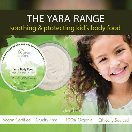 Naturally Tribal: Yara Kids Body Food - 100g