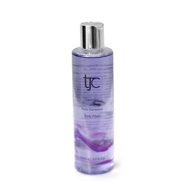 TJC Lavender and Rose Geranium Luxury Body Wash 250ml