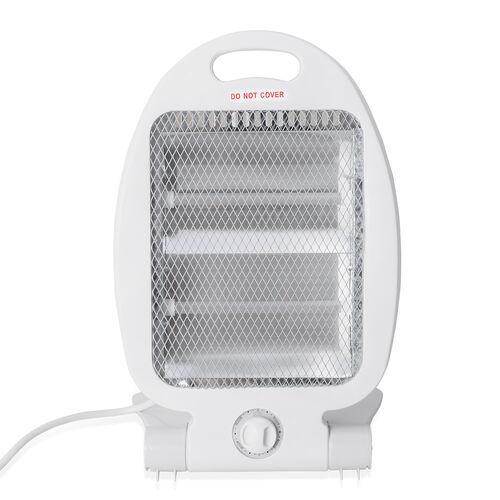 Home Decor - White Colour Portable Electronic Heater (Size 36.5x22.5x7 Cm)