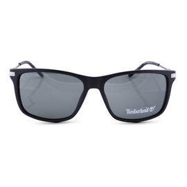 BOSS Unisex Square Sunglasses with Green Lenses
