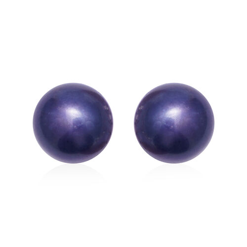3 Piece Set -  Freshwater Peacock Pearl Bracelet (Size 7), Stud Earrings (with Push Back) and Necklace (Size 18 with 2 inch Extender)