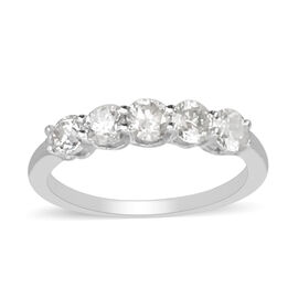 NY Close Out Deal 14K White Gold Diamond (I1-I2/G-H) Ring 1.00 Ct.