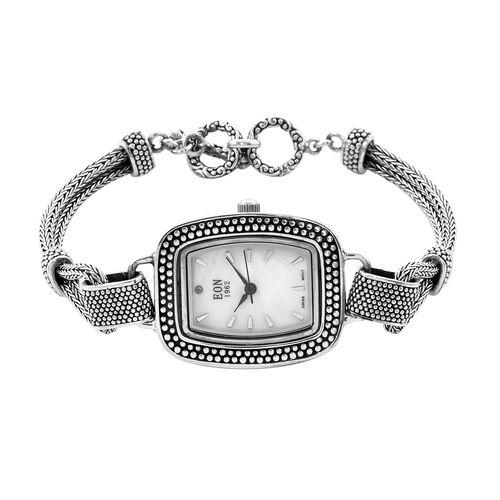 Royal Bali Collection - EON 1962 Swiss Movement Water Resistant Tulang Naga Bracelet Watch (Size 8 w