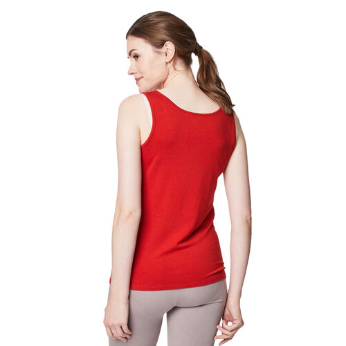 Thought Bamboo Base Layer Singlet (Size 12) - Fox Red