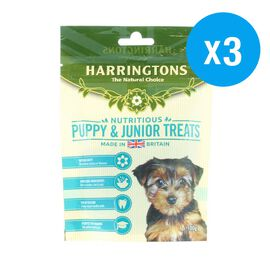 Harringtons: Puppy & Junior Treats Chicken & Rice - 100g (Pack of 3)
