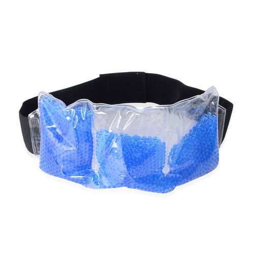 Reusable Therapeutic Gel Beads Muscle and Pain Relief Wrap Set - (Neck and Shoulder Wrap, Back Wrap and Eye Mask)