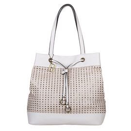 Bulaggi Collection Buffy Bone Colour Shopping Tote Bag