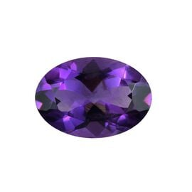 AAA Uruguay Amethyst Oval 14x10 Faceted 4.80 Cts