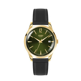 Henry London Chiswick Ladies Watch with Black Calf Leather Strap