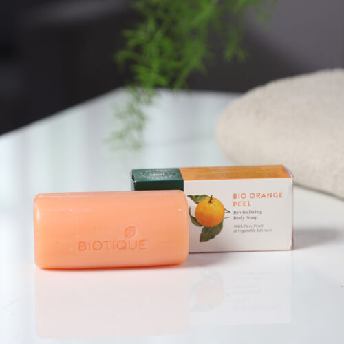 Biotique Bio Orange Peel Revitalising Body Soap