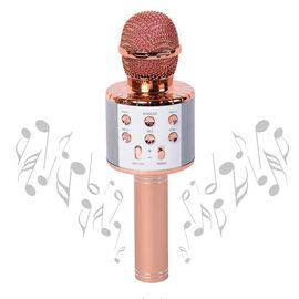 Smart Karaoke Mic with Multi Features in Rose Gold Colour Estimated dispatch 4-5 working days