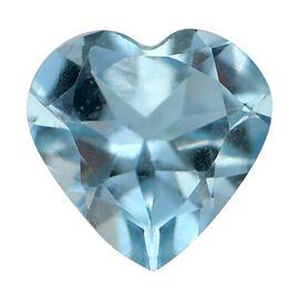 AAA Espirito Santo Aquamarine Heart 5.0mm