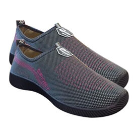 Sport and Leisure Slip-On Shoes in Grey