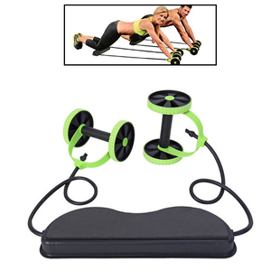 Multi Functional and Portable Double Wheel Exercise Rollers