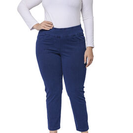 Super Stretch Jeggings with Pockets in Blue Colour