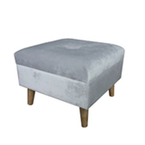Grey Colour Footstools with Storage Box (Size 38x38x26 Cm)