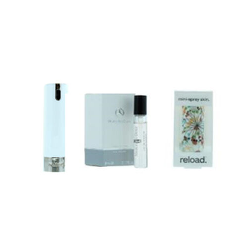 Reload Mini Perfume Spray White (Incl. Mercedes For Women - 5ml & Zebra Skin)