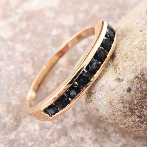 ILIANA- 18K Yellow Gold Monte Belo Indicolite Ring 1.000  Ct.