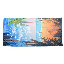 Blue and Yellow Colour Sunset View Pattern Towel or Bag (Size 88x170 Cm)