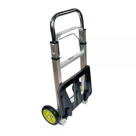 ROLSON Aluminium Folding Trolley- High capacity 90Kg (PLATE-36X24/FULL LEN-105X38X70X30 CM)