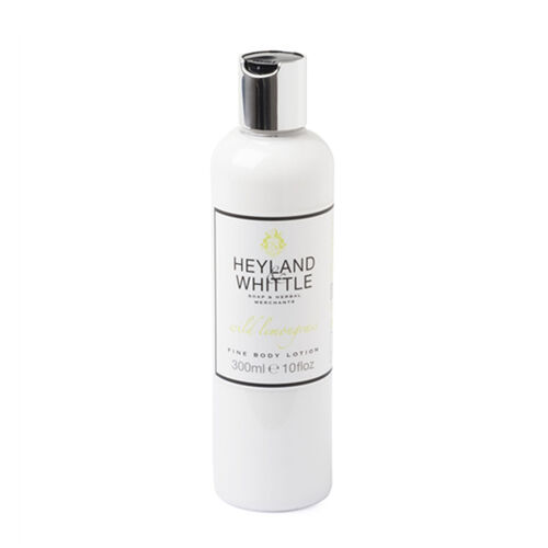 Heyland & Whittle: Wild Lemongrass Body Scrub, Organic Bar & Body Lotion