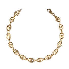 Super Auction - JCK Vegas Collection- 9K Yellow Gold Mariner Link Bracelet (Size 7.5), Gold wt 5.07