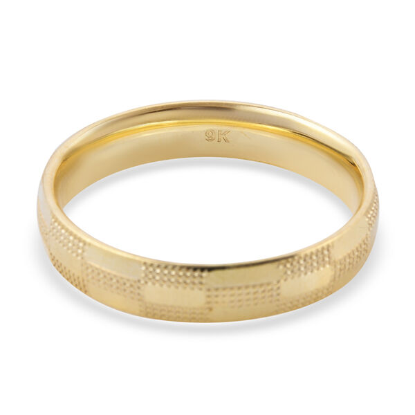 Close Out Deal- 9K Yellow Gold Band Ring