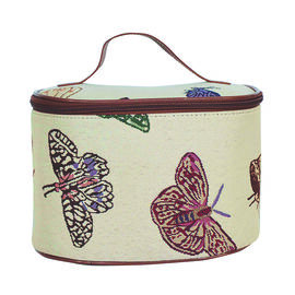 SIGNARE - Tapastry Butterfly Vanity Bag (23x16x16 cms)