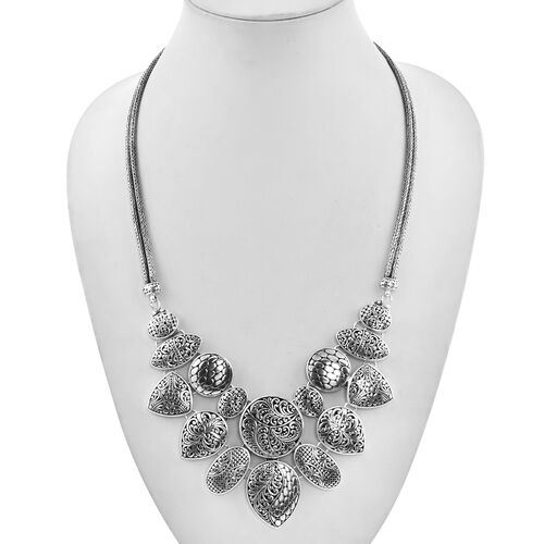 Royal Bali Collection - Sterling Silver Necklace (Size 20), Silver wt 98.17 Gms