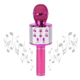 Microphone Bluetooth Speaker - Pink