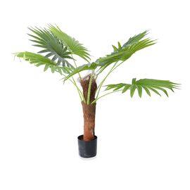 Artificial Palm Tree Plant with Pot - 80 Cm