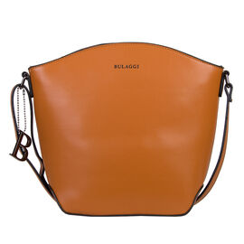 Bulaggi Collection - KAYLA Crossbody Bag with Adjustable Strap (20x09x25cm) - Burnt Orange Colour