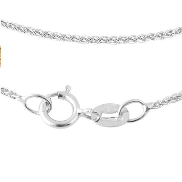 JCK Vegas Collection ILIANA 18K White Gold Spiga Chain (Size 20), Gold wt. 2.70 Gms.