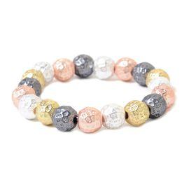 Multi Tone Ball bead Bracelet (Size 6 to 9)